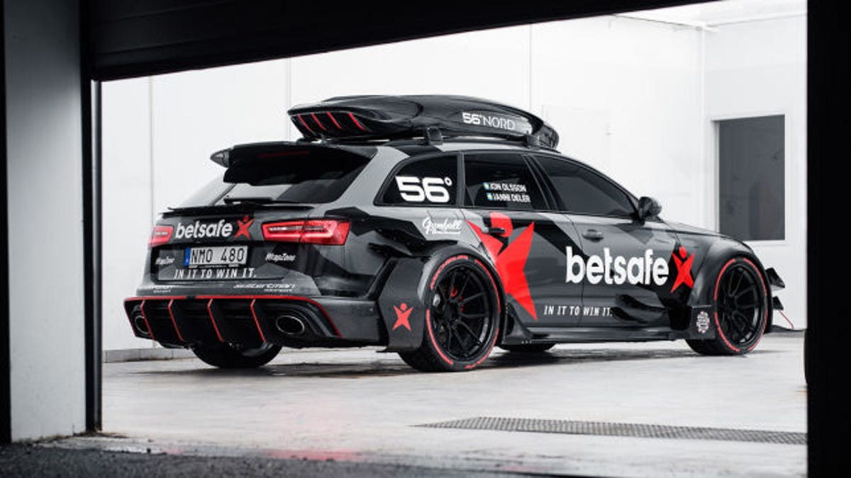 Jon Olsson S Crazy Audi Rs6 Dtm Was Stolen And Burned To