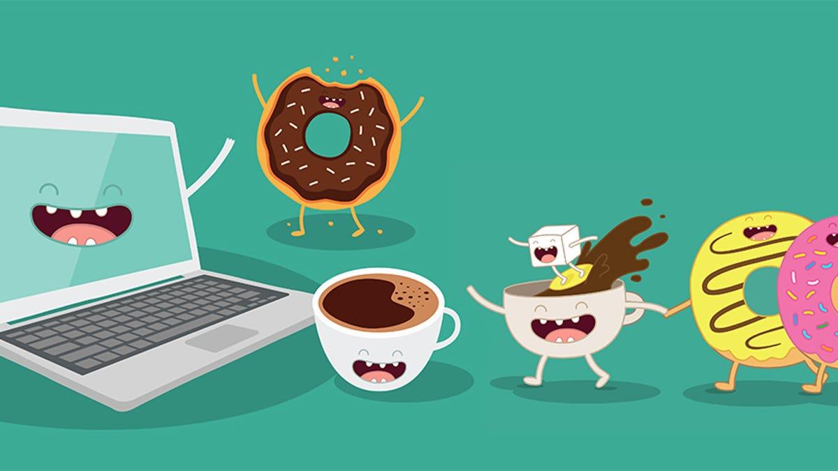 Hay una alternativa sana a los snacks que comes frente al ordenador, pero no te va a gustar