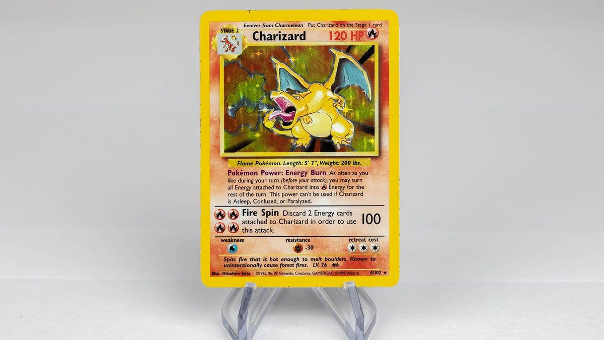 Charizard Base Set Pokémon Card Gets Reissue For 25th Anniversary - Kotaku