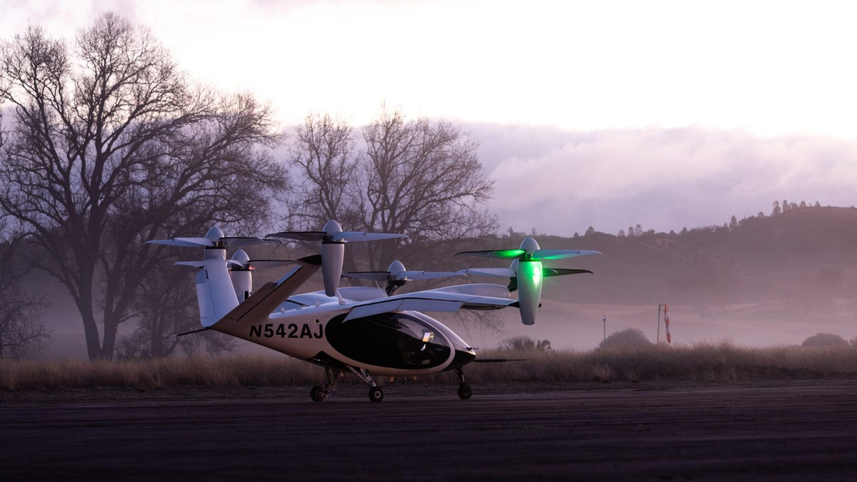 NASA Flight Tests of Futuristic 'Air Taxi' Are Finally Underway thumbnail