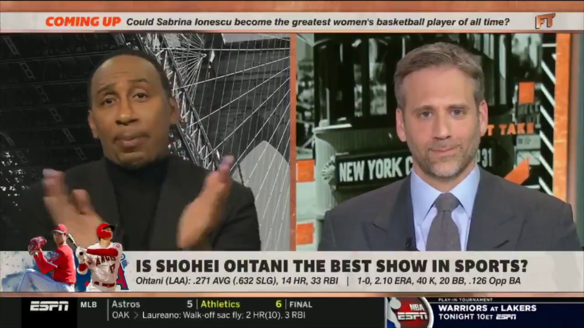 Stephen A. Smith and baseball, always an incredible combination