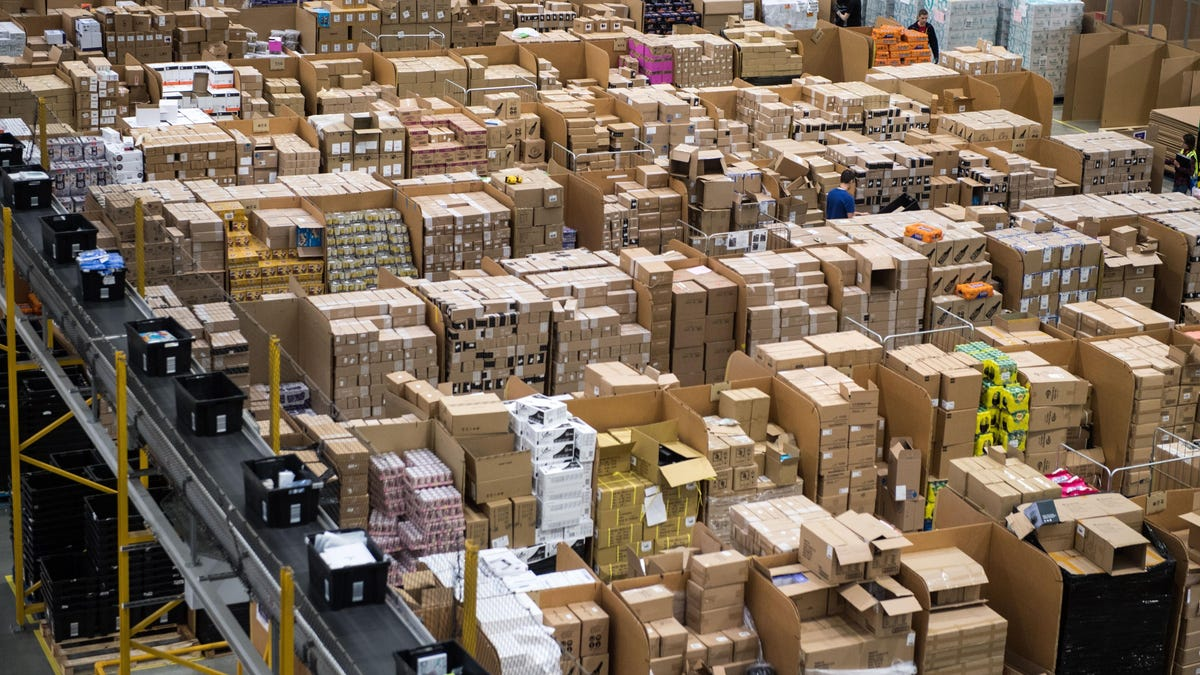 Amazon Trashes Millions of Products a Year at Just One Warehouse: Report