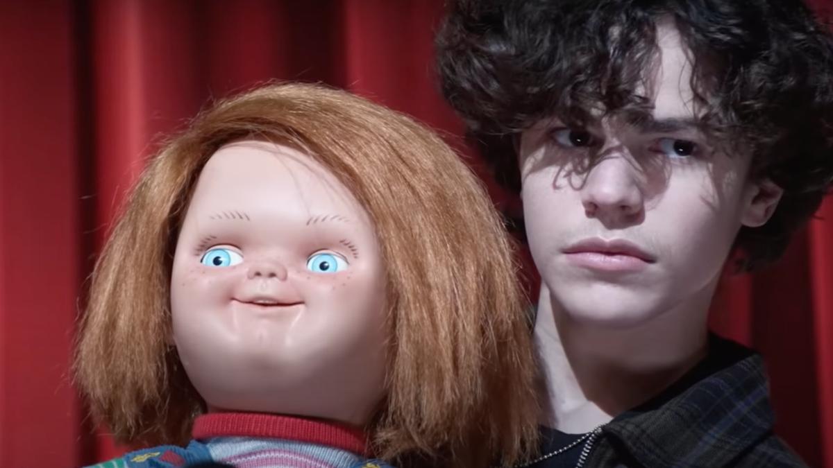 Chucky kills a teenage boy's social life in the Chucky series trailer