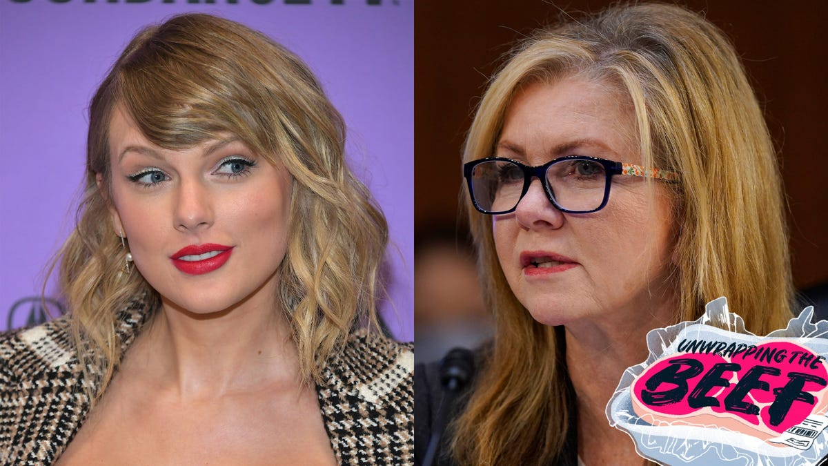 Marsha Blackburn Is Reheating Some Frozen Beef With Taylor Swift