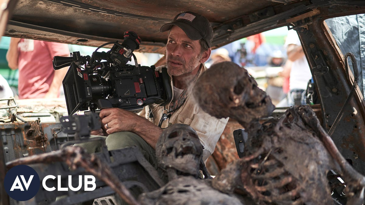 Zack Snyder on why he drew the line at full frontal male zombie nudity
