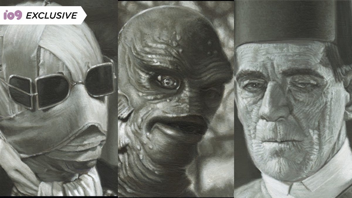 The Universal Monsters Come to Life in This Frighteningly Detailed Artwork thumbnail