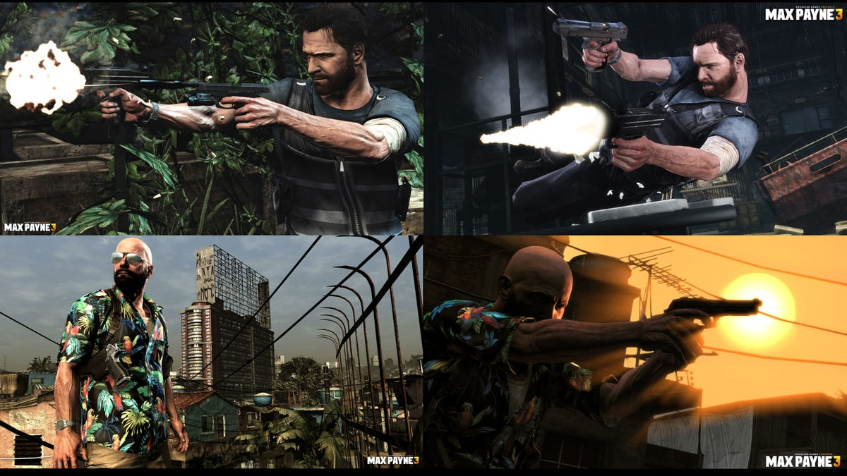 How Much Better Does Max Payne 3 Look On Pc