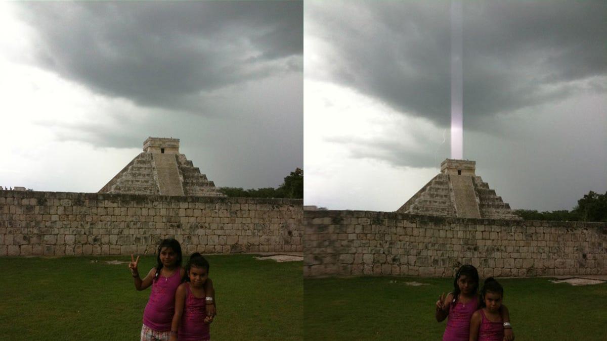 Pyramid Beam Light