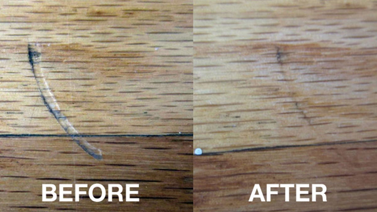 Dents In Hardwood Floors With An Iron