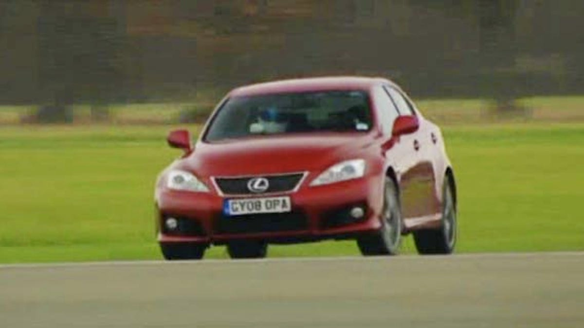 Top Gear Pits Bmw M3 Vs Lexus Is F We Translate Stig S