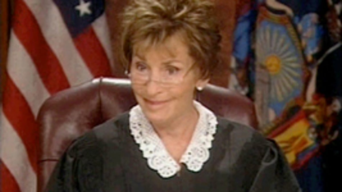 """Judge Judy Puts Herself In """"The Big House""""…Her Own"""