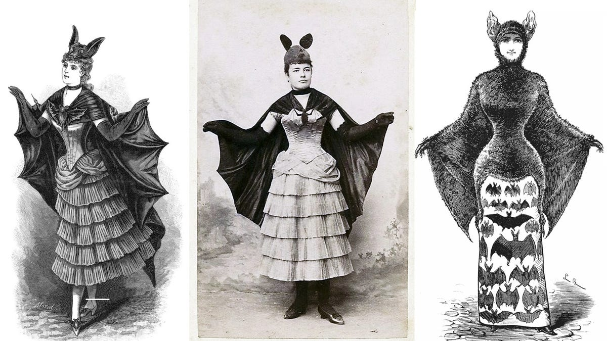 This is what Batgirl would've looked like in the 1880s