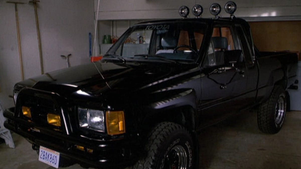 Marty Mcfly Truck >> Marty Mcfly S Toyota Truck Getting Restored After Possibly