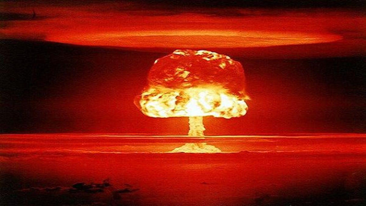 Big O Auto >> Why are atomic bomb clouds mushroom-shaped?