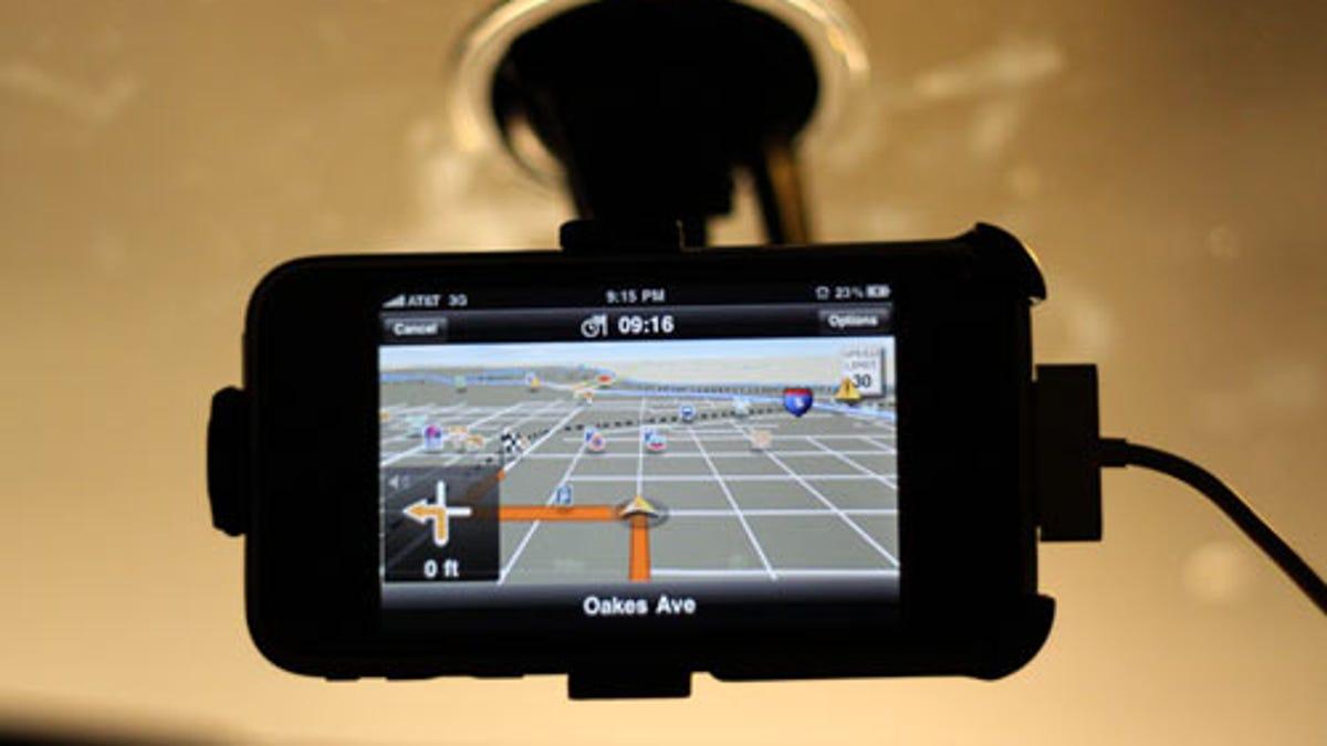 The Best iPhone Navigation App: TeleNav vs  Navigon vs  TomTom