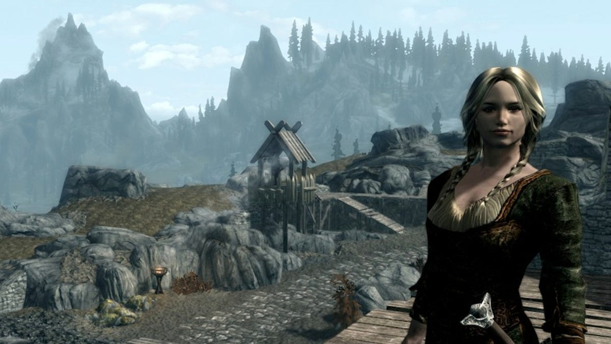 This Ambitious Custom Skyrim Follower Embodies Everything