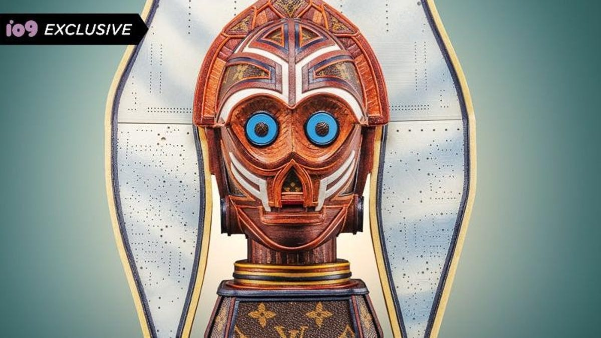 Ahsoka Tano and C-3PO Get the Mash-Up Sculpture You Didn't Know You Needed