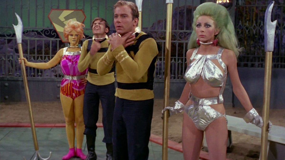 Andrea Anders Boobs weirdest and sexiest costumes from the original star trek