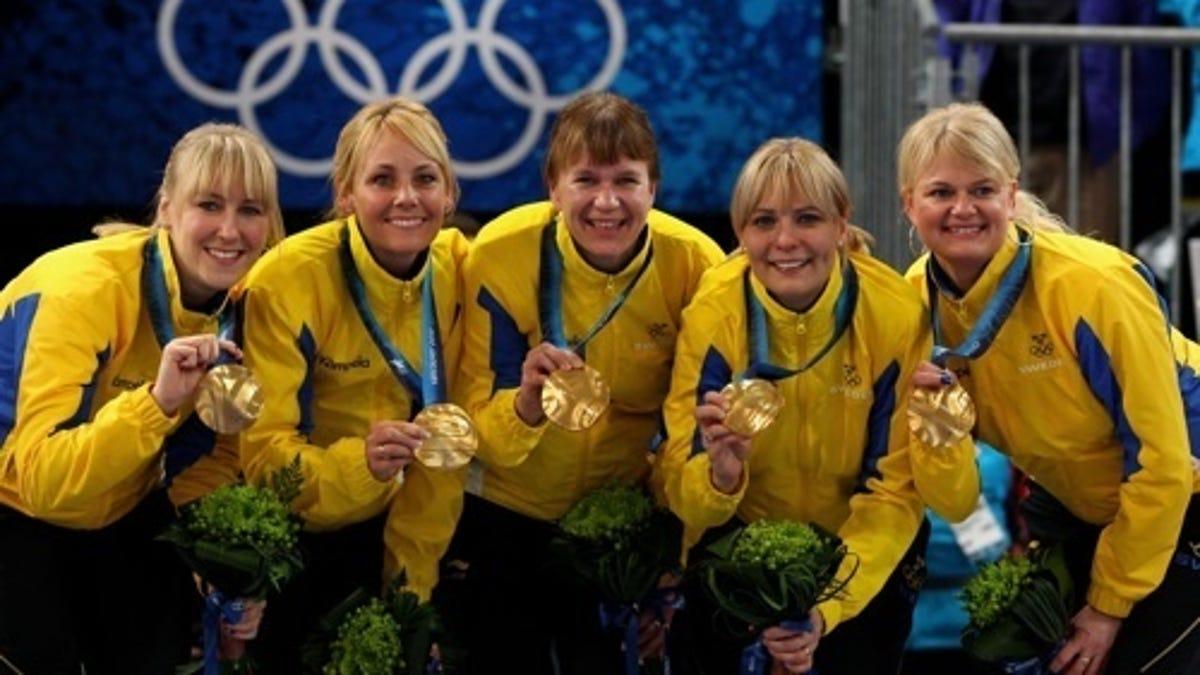 Anette Norberg golden girls, golden curls