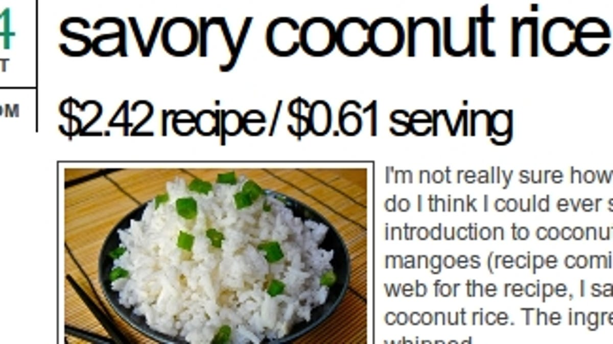 Budget Bytes Shares Recipes with Per-Serving Costs