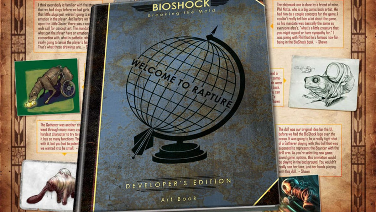 Bioshock Breaking The Mold Art Book Gets Reduxed Deluxed