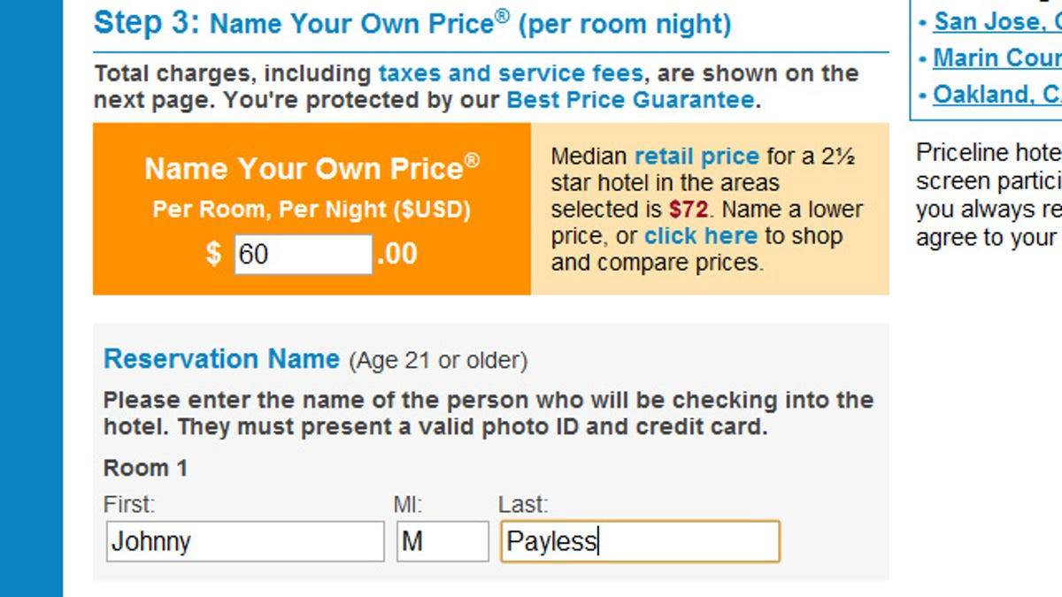Use Fellow Cheapskates Victories To Nail Down Priceline And Hotwire Auctions