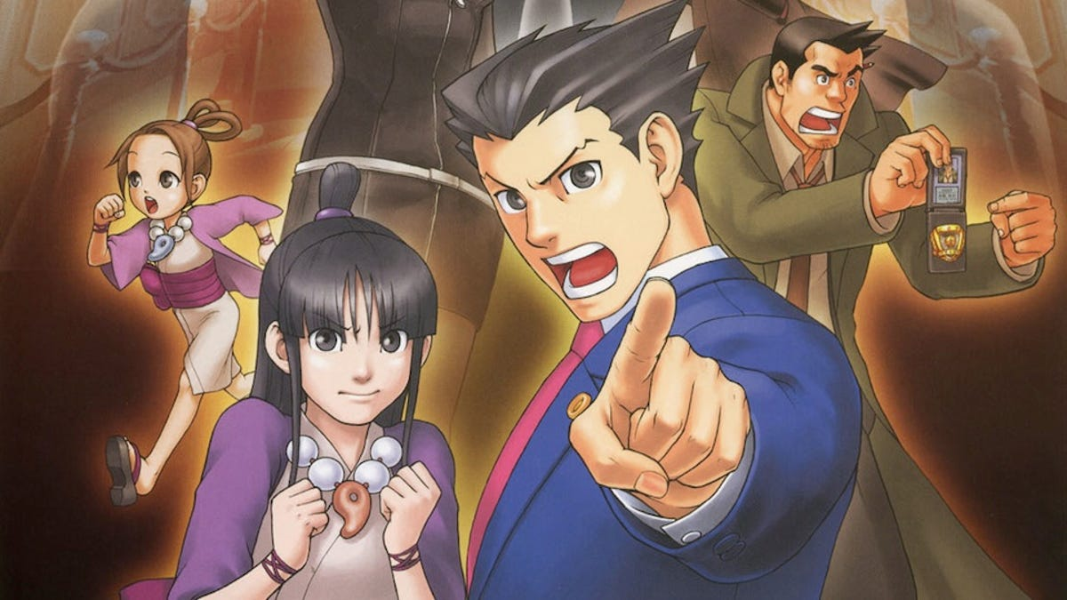 The Cheesy Joyous Music Of The Ace Attorney Series