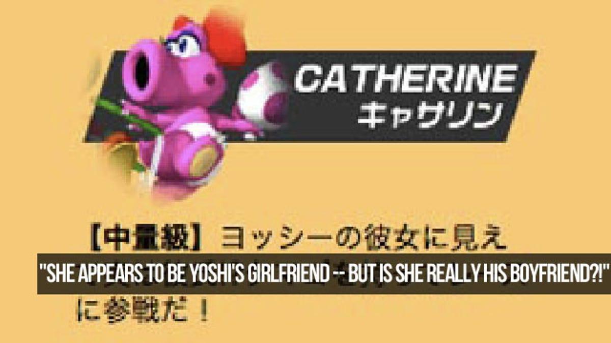 on Yoshi dating birdo