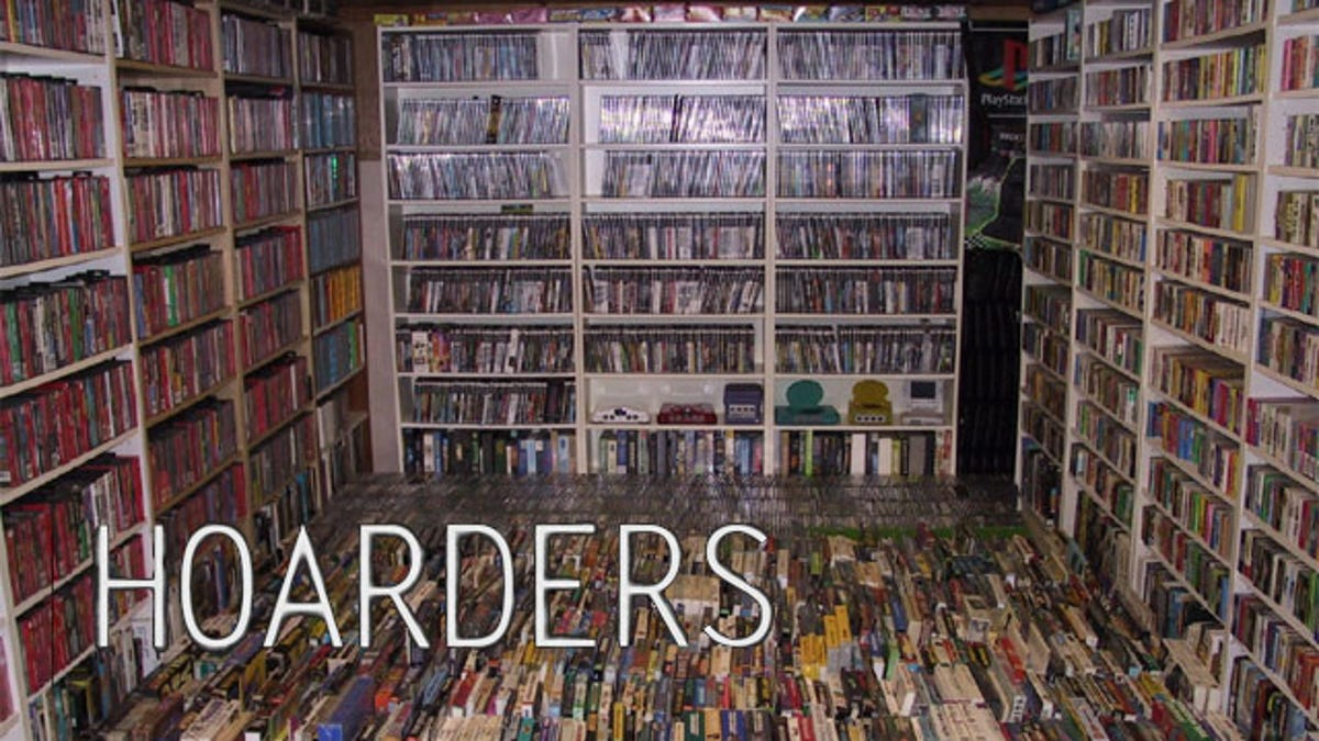 Are You A Video Game Hoarder?