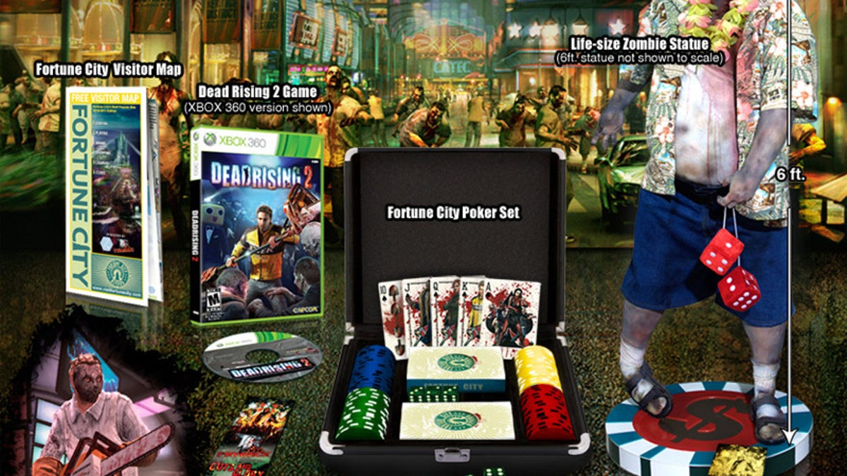 Capcom Ups The Ante With The Dead Rising 2 High Stakes Edition