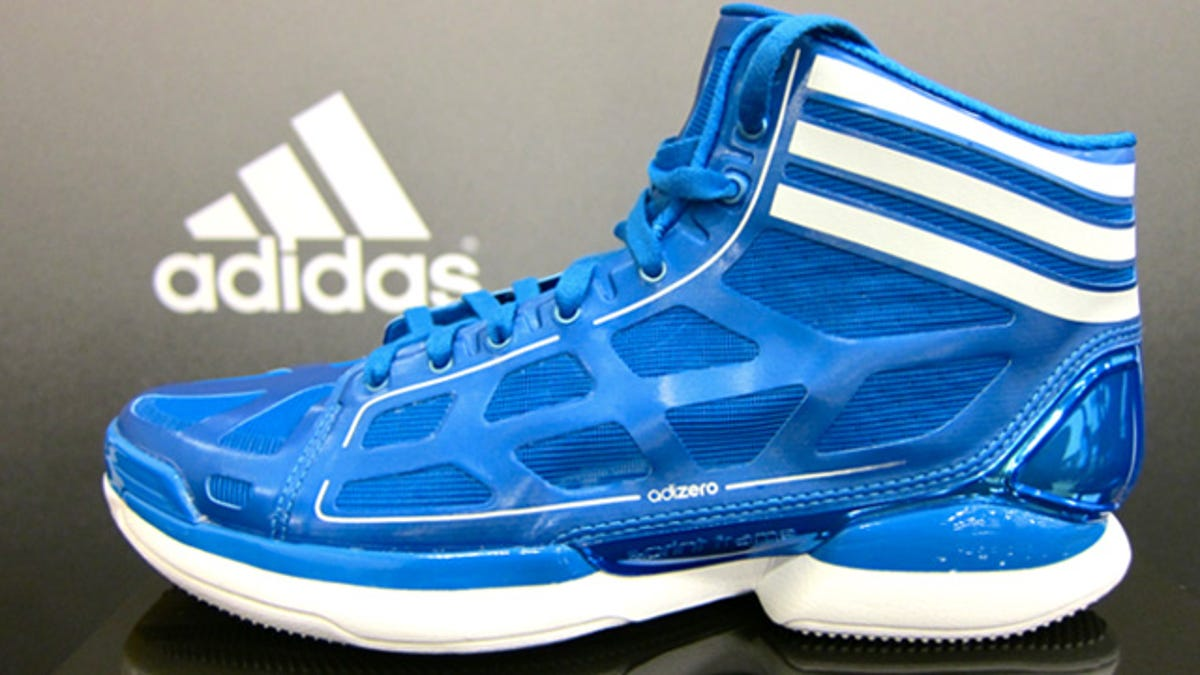 Shooting Hoops in the Adidas AdiZero Crazy Lights, the
