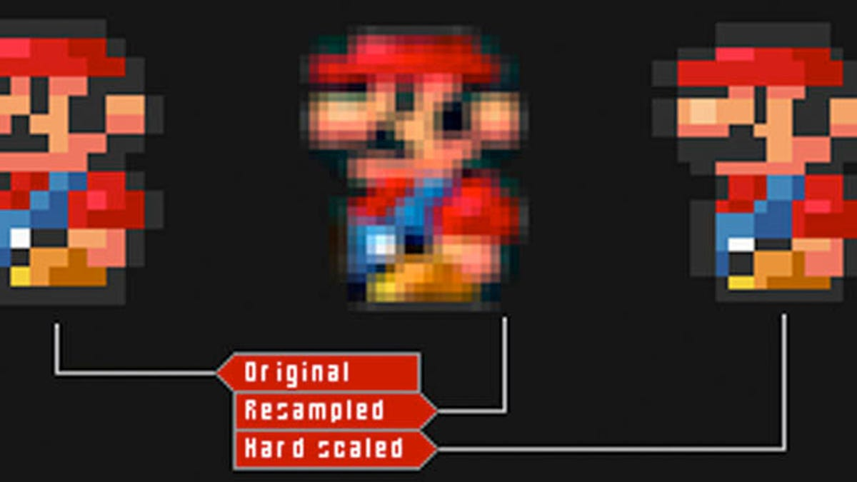 Explained Why Super Mario Bros Looks Like Ass On Your Hdtv