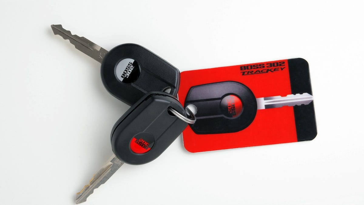 This Red Key Turns Your Boss Mustang Into A Race Car