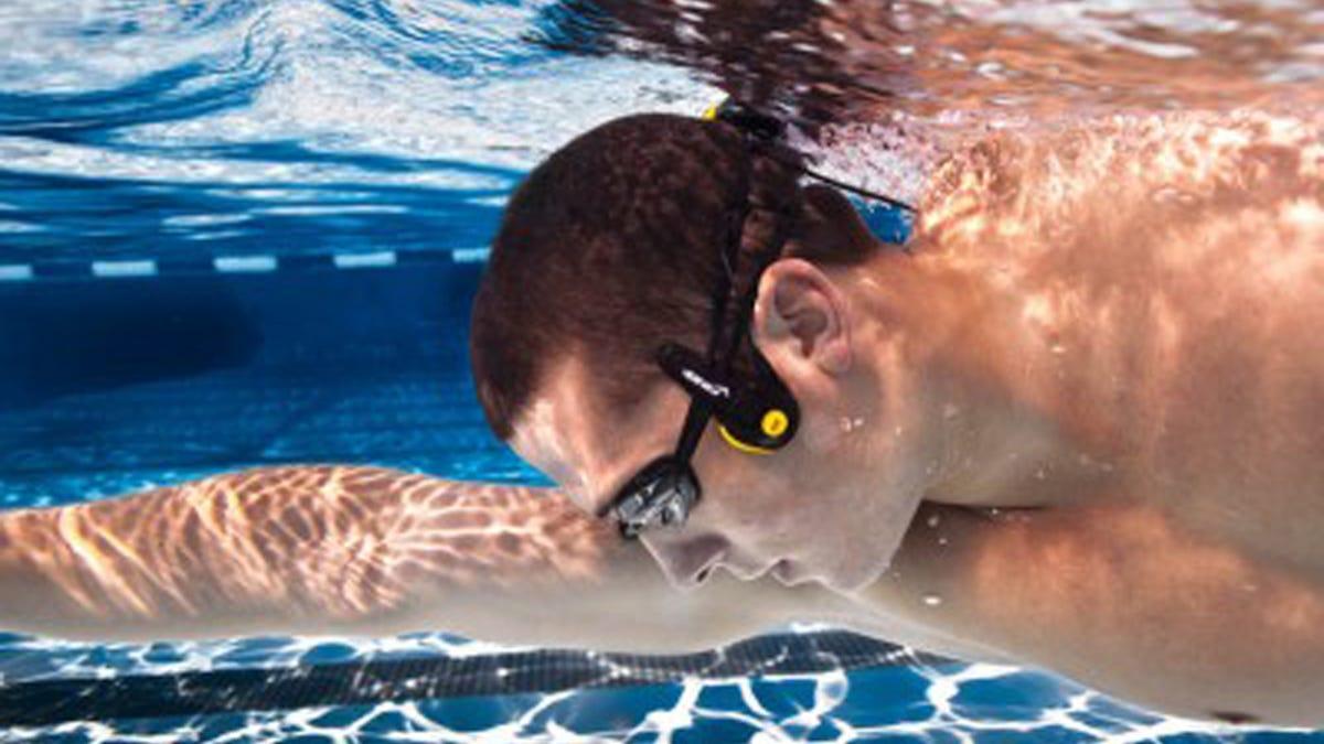 Listen To Music Through Your Cheekbones While You Swim Laps