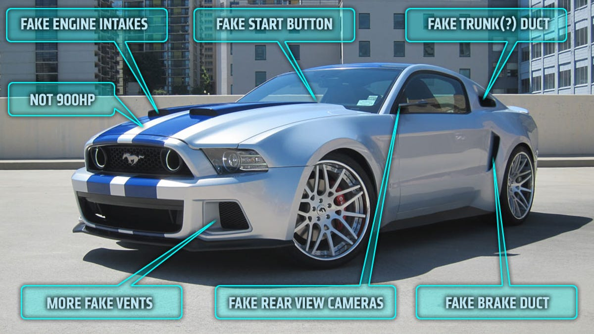 Need For Speed S Star 900 Horsepower Ford Mustang Is Totally Fake