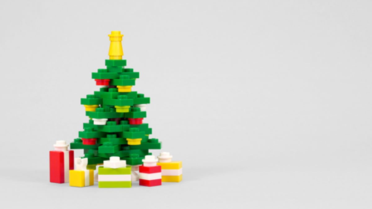 Build A Lego Christmas Tree With Powerpig