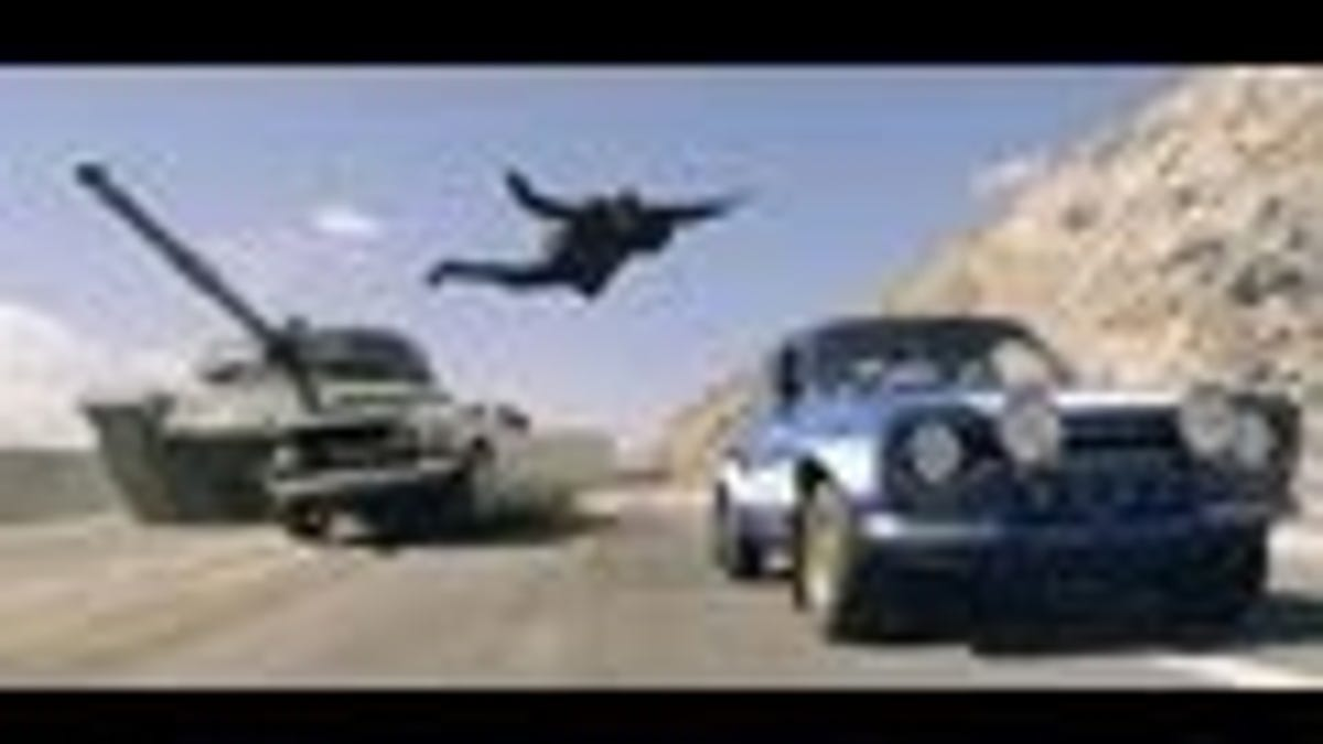 Fast & Furious 6 Trailer: Everything Explodes
