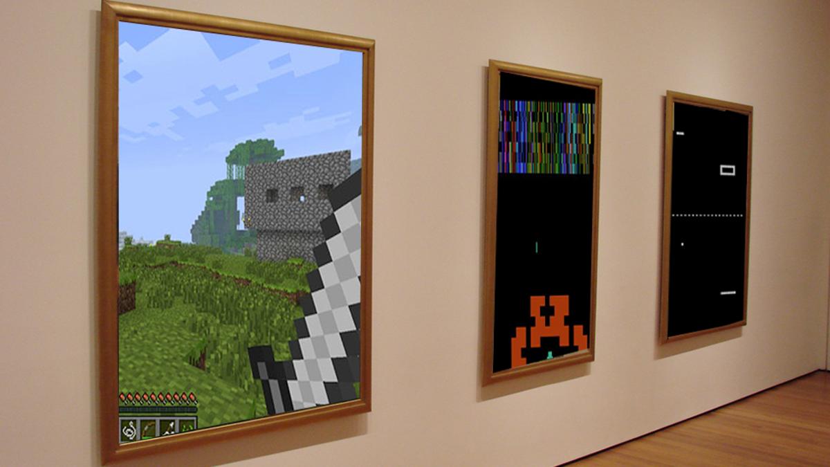 Modern Art Miencraft