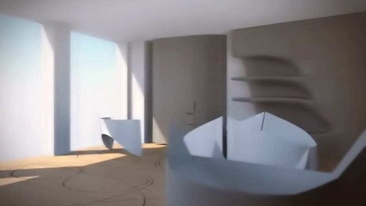 This Transforming Concept Apartment Is a Dozen Rooms at Once