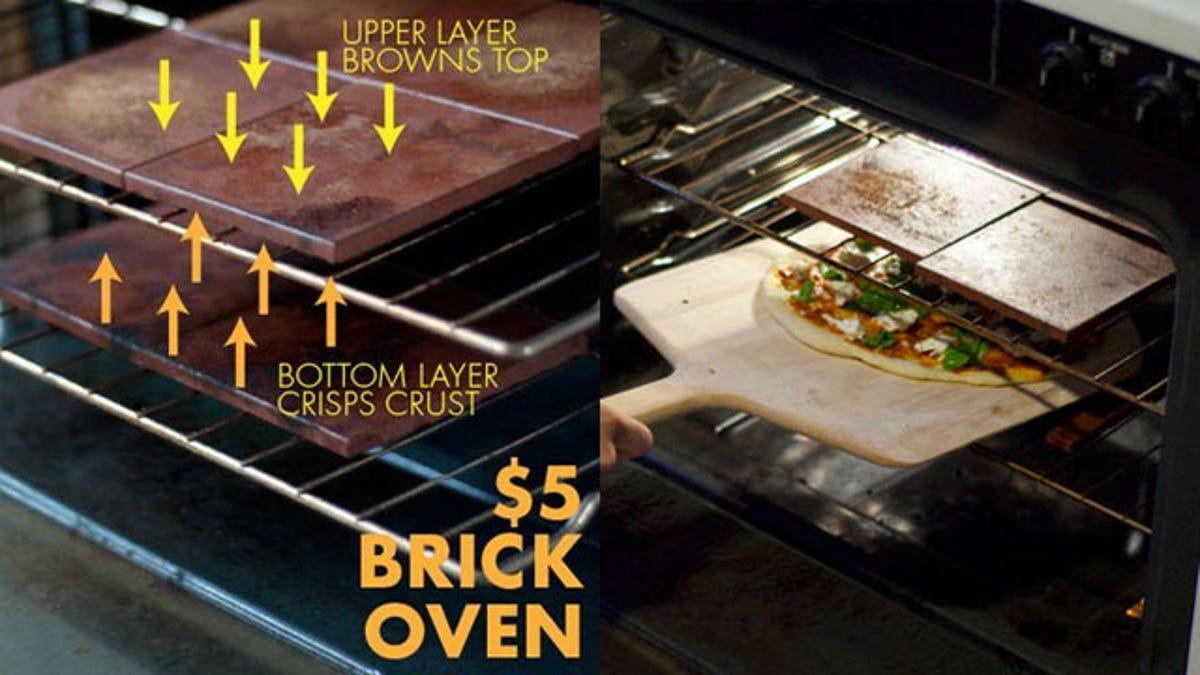 Make the Ultimate Pizza at Home with a $5 DIY Brick Oven