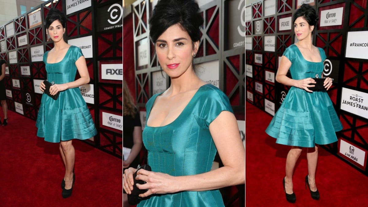 Sarah Silverman Is All Big Hair Don T Care