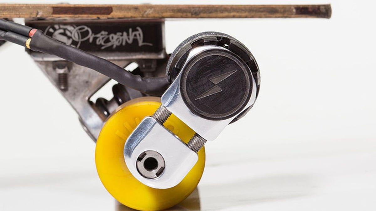 Kickr, un motor casi invisible para tu longboard