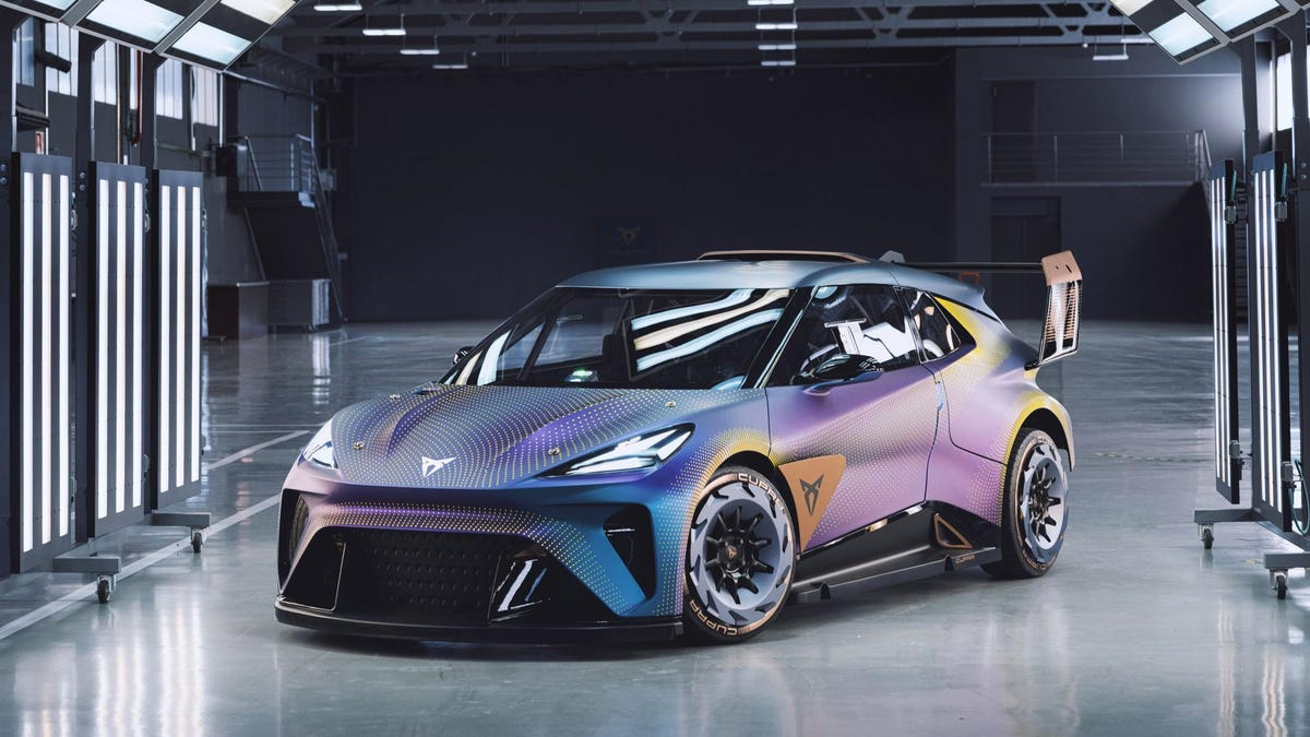 The Cupra UrbanRebel Concept Is The Electric Hot Hatch The World Needs Right Now