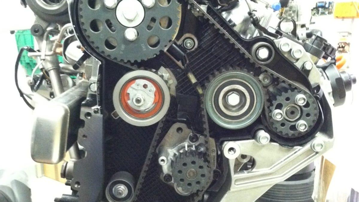 Audi A3 20 Tdi Timing Belt Change