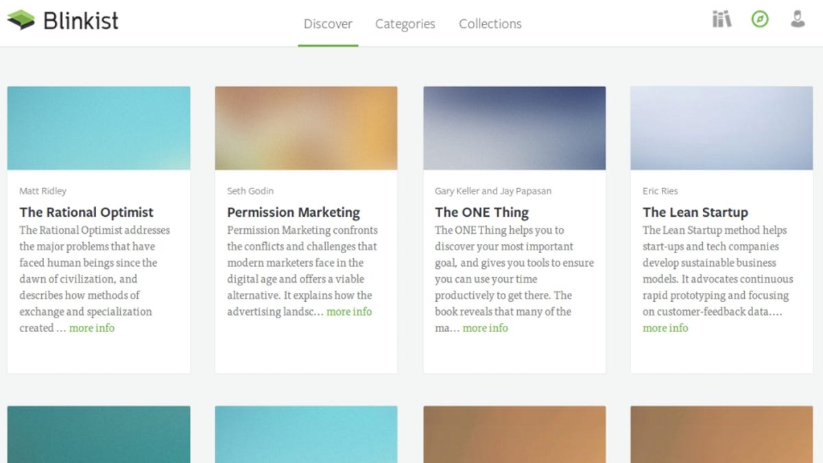 Blinkist Summarizes Important Parts of Books for Quick Learnings