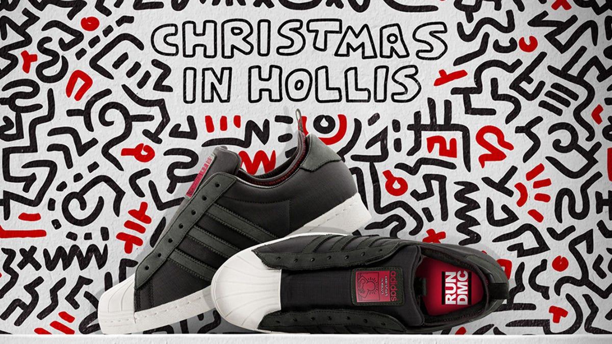 Run Dmc Christmas.Adidas And Run D M C Made A Pair Of Christmas In Hollis