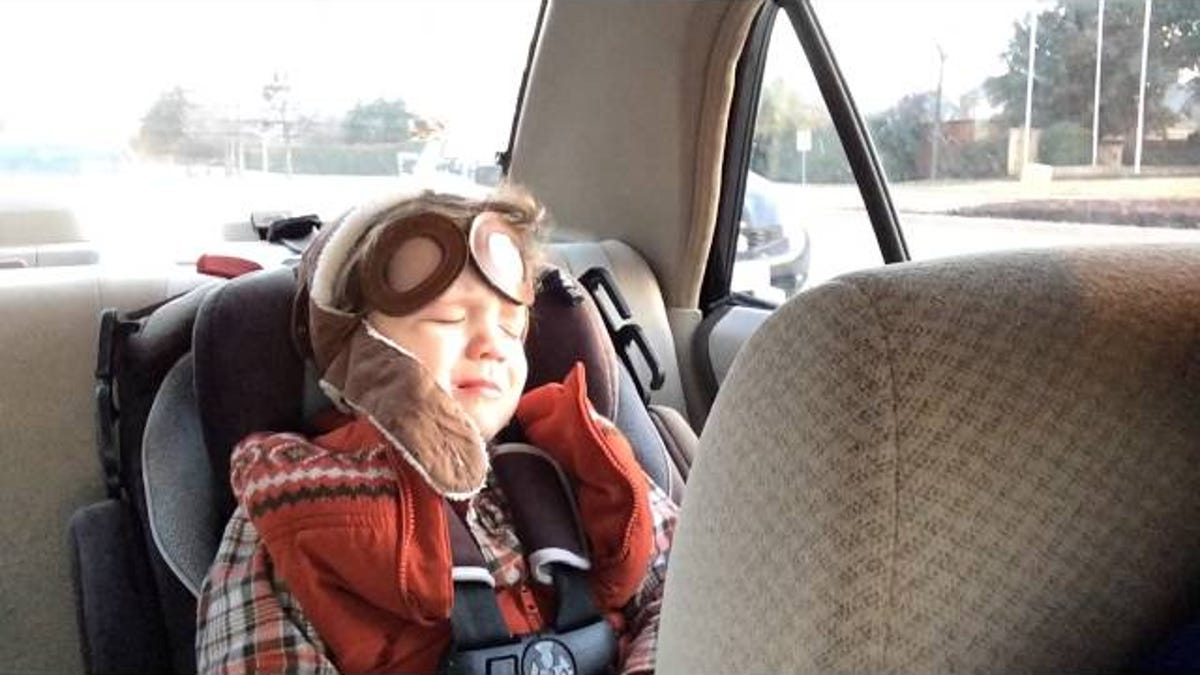 Four-year-old adorably starts crying because of a beautifully sad song