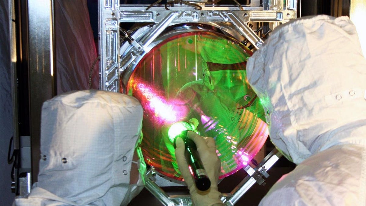 Mirrors That Detect Ripples in Space-Time Were Frozen to Near Absolute Zero