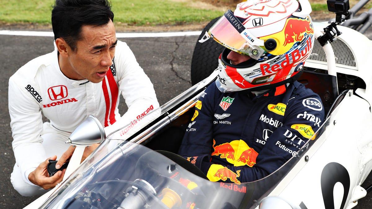 Red Bull und Honda trennen sich auf die beste Art und Weise - mit einer Retro-Livery