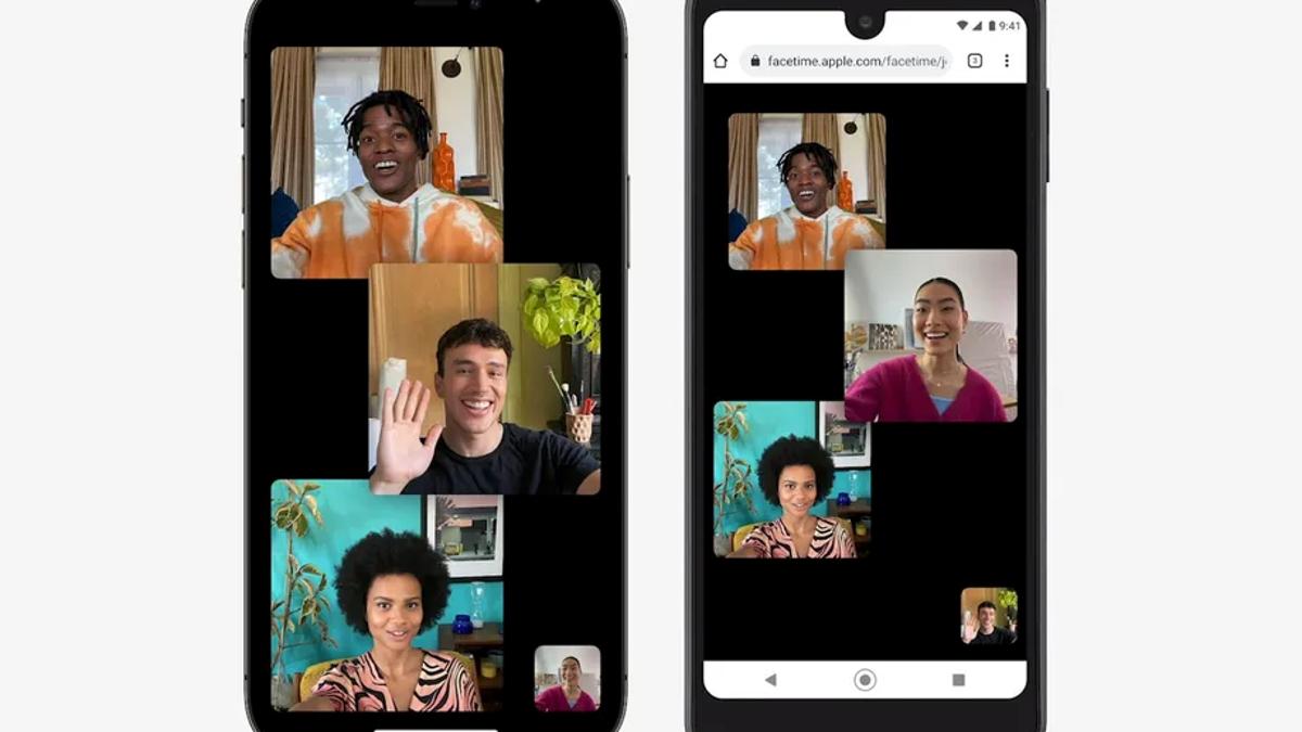 FaceTime por fin disponible en Android y en PC, pero desde la web